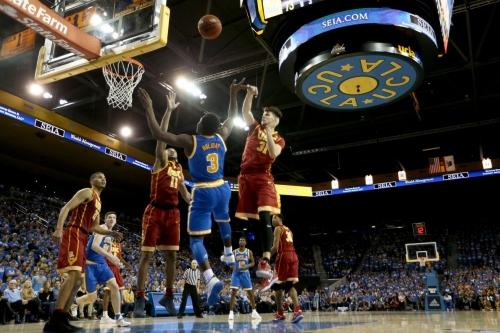 UCLA defeats USC Basketball 102-70