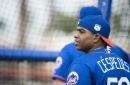 Yoenis Cespedes resumes car show at Mets spring training