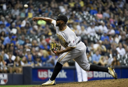 Feliz in Brewers camp, ready to challenge for closer's role The Associated Press