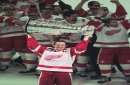 Joe Louis Arena memories: Steve Yzerman lifting the Stanley Cup for first time