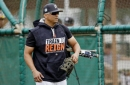 Tigers spring training notebook: Joe Jimenez gets tips from Victor Martinez after live BP