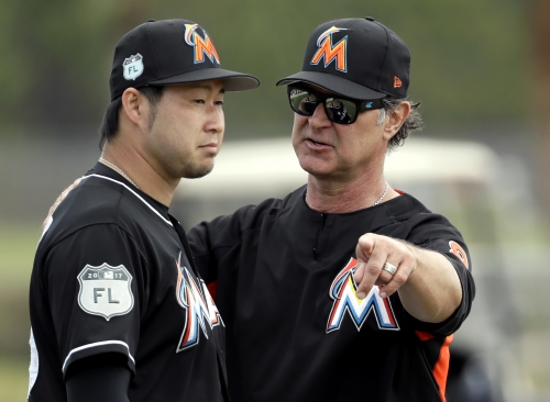 Marlins catcher Ellis is a backup with several major roles The Associated Press
