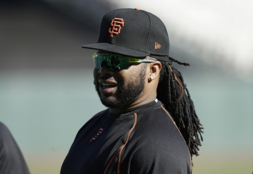 Giants' Cueto still in Dominican Republic with ailing father The Associated Press
