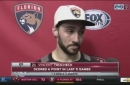Vincent Trocheck details Panthers' furious final minute of win