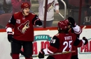 Arizona Coyotes hang on to defeat Anaheim Ducks 3 goals to 2