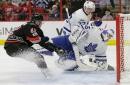 Leafs backup goalie marvels at Matthews
