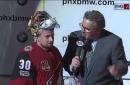Langhamer rescues Coyotes in NHL debut