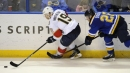Fourth line spark not enough in Blues loss to Panthers