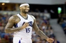 DeMarcus Cousins delivers teary farewell to Sacramento