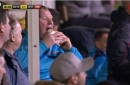 How Everton duo emulated Wayne Shaw's pie eating antics on tour