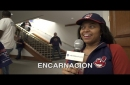 Can you correctly spell Edwin Encarnacion's last name? Let's see how fans at Tribe Fest did (video)