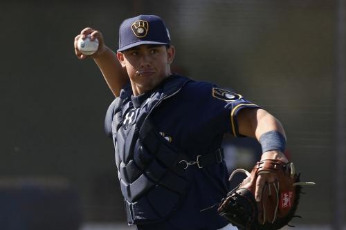 Milwaukee Brewers prospect Jacob Nottingham says he 'tried too hard' last year