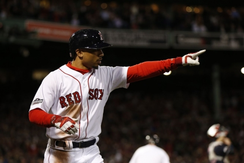 MLB Network names Mookie Betts #8 on their Top 100 Players Right Now