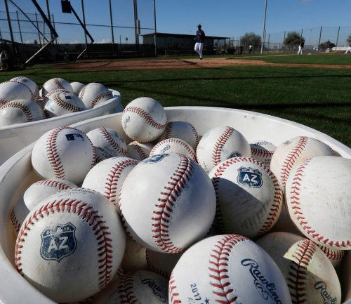 Arizona State students back at Brewers spring training