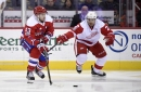 Red Wings' Brendan Smith not caught up in trade talk, trying to keep focus