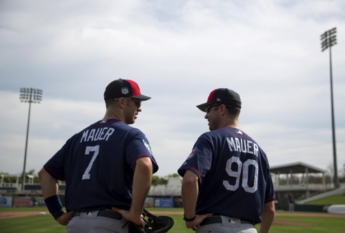 Mauer enters 14th year still excited he's at home as a Twin The Associated Press