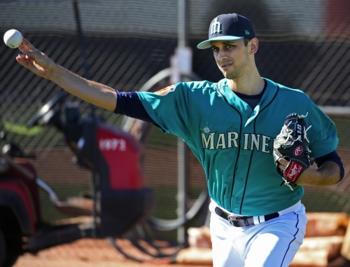Mariners reliever Steve Cishek: 'It was an exciting day for me, maybe not for the average person'