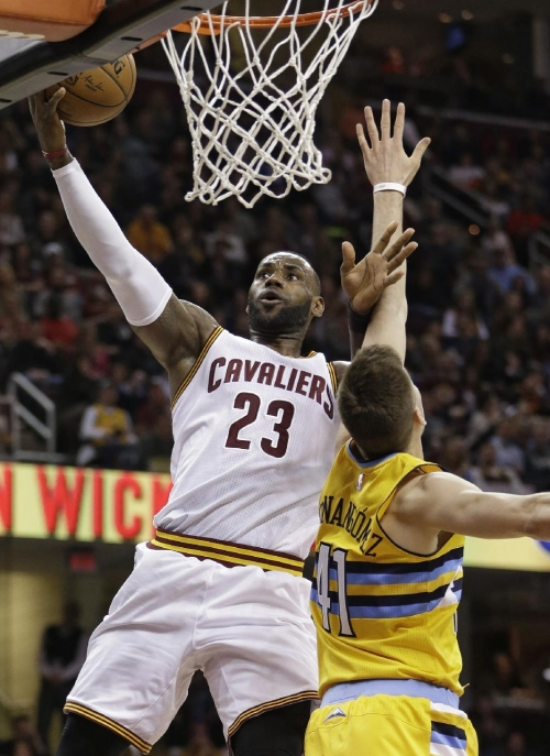 LeBron James talking a good game, still playing a great one The Associated Press