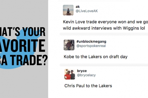 We asked your favorite NBA trades, and you delivered.