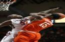 Allen 3-pointer gives Virginia Tech a win over Clemson