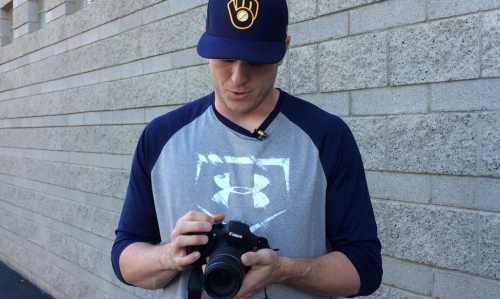 Brewers' Rob Scahill captures life on the road