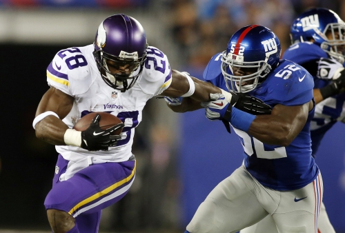 Adrian Peterson to the Giants? Here are the betting odds