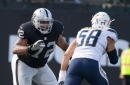 What condition Raiders' position is in pre-free agency: Offensive tackle
