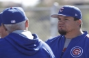 Cubs' Kyle Schwarber not ready to let go of catching dream