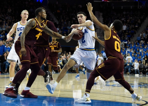 No. 5 UCLA hopes Valley visit vs. Arizona State is prelude to Final Four