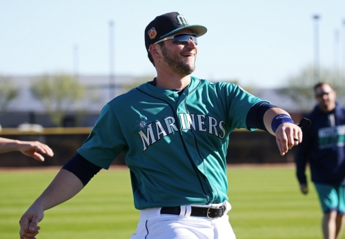 Mike Zunino feeling more optimistic this spring with Mariners