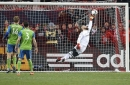 Sounders want help finding fans 'posterized' by Stefan Frei save