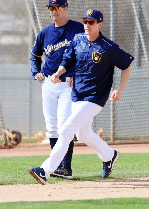 Camp report: Brewers lineup a long way off