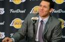 Lakers News: Luke Walton is having fun working with Magic Johnson
