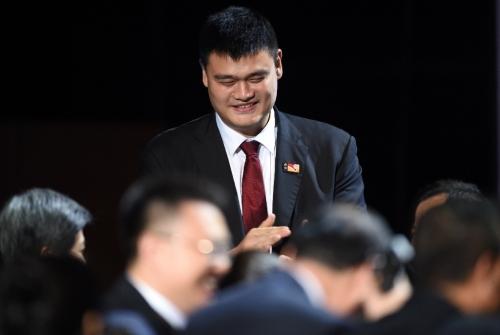 NBA legend Yao Ming named Chinese basketball chief