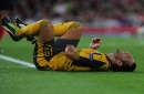 Santi Cazorla ruled out for the rest of Arsenal's season after suffering fresh setback in recovery from ankle injury