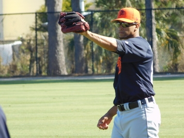 New Tiger William Cuevas, a Venezuelan, will pitch for Colombia in WBC