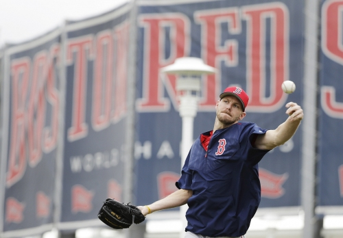 Chris Sale, David Price, Rick Porcello slated to make first Red Sox starts end of next week