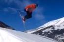 Did Tom Brady really post a video of himself crashing on a ski jump?