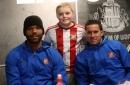 Watch Sunderland fans brave Storm Doris to meet new boys Oviedo, Gibson and Lescott