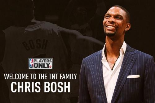 Chris Bosh joins TNT as Studio Analyst