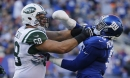 Jets release starting right tackle Breno Giacomini