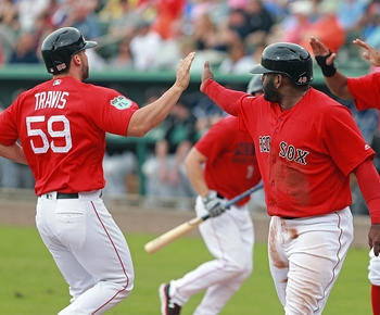 Sam Travis home run leads Red Sox in spring opener