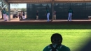 Reliever Thyago Vieira impresses his Mariners' teammates in a live batting practice session