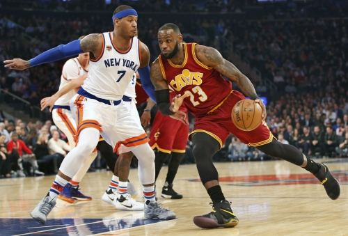 Cleveland Cavaliers vs. New York Knicks: Live updates, score and chat Game 56