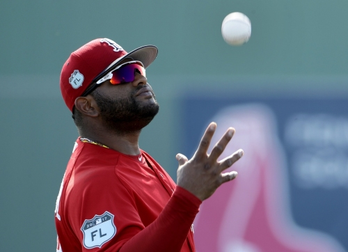 Pablo Sandoval, Boston Red Sox 3B, returns to game action with double, head-first slider into second