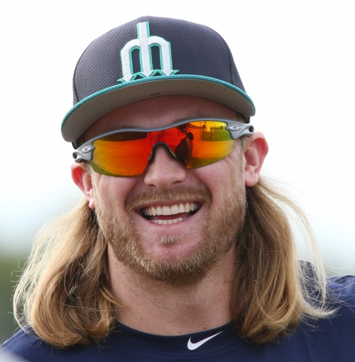 Taylor Motter, other Mariners are giving new meaning to 'hairy situation' in spring training