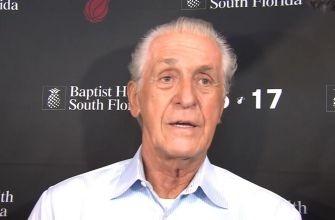 Pat Riley: Miami Heat trade deadline press conference Part 1