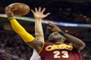 LeBron James or Tristan Thompson: Who had the better block Thursday against Derrick Rose? (poll)