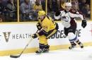 Avalanche can't overcome Filip Forsberg's hat trick in loss to Predators