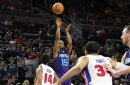 Hornets come up short in overtime, lose to Pistons 114-108
